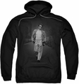 James Dean pull-over hoodie Out For A Walk adult black