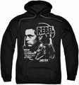 James Dean pull-over hoodie Rebel Cover adult black