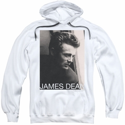 James Dean pull-over hoodie Reflect adult white