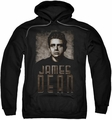 James Dean pull-over hoodie Sepia Dean adult black