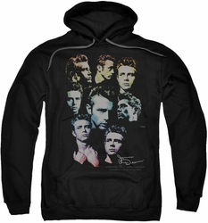 James Dean pull-over hoodie The Sweater Series adult black