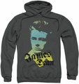 James Dean pull-over hoodie Tortured Soul adult charcoal
