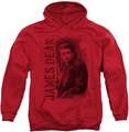 James Dean pull-over hoodie Trenchcoat adult red