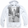 James Dean pull-over hoodie Walk The Walk adult white