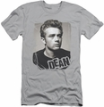 James Dean slim-fit t-shirt Broken Border mens silver