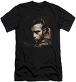 James Dean slim-fit t-shirt Brown Leather mens black