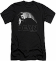 James Dean slim-fit t-shirt City Dean mens black