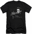 James Dean slim-fit t-shirt City Life mens black