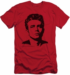 James Dean slim-fit t-shirt Dean mens red