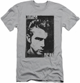 James Dean slim-fit t-shirt Graphic mens silver