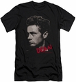 James Dean slim-fit t-shirt Large Halftones mens black