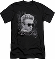 James Dean slim-fit t-shirt Movie Star mens black