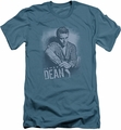 James Dean slim-fit t-shirt Not Amused mens slate