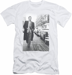 James Dean slim-fit t-shirt On The Street mens white