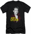 James Dean slim-fit t-shirt Red Jacket mens black