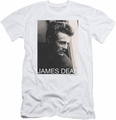 James Dean slim-fit t-shirt Reflect mens white