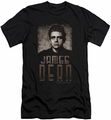 James Dean slim-fit t-shirt Sepia Dean mens black