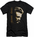 James Dean slim-fit t-shirt Smoke mens black