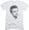 James Dean slim-fit t-shirt Vintage Face mens white