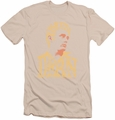 James Dean slim-fit t-shirt Word Head mens cream
