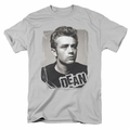 James Dean t-shirt Broken Border mens silver