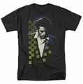 James Dean t-shirt Checkered Darkness mens black