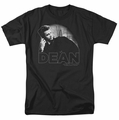James Dean t-shirt City Dean mens black