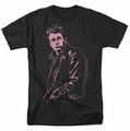 James Dean t-shirt Coat mens black