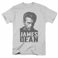 James Dean t-shirt Dean Lines mens silver