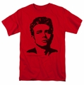 James Dean t-shirt Dean mens red