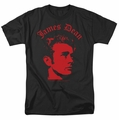 James Dean t-shirt Deep Thought mens black