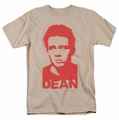 James Dean t-shirt Graffiti Stencil mens sand