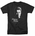 James Dean t-shirt Intense Stare mens black