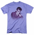 James Dean t-shirt Mischevious mens lavendar
