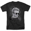 James Dean t-shirt Movie Star mens black