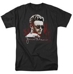 James Dean t-shirt New York Shades mens black