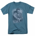 James Dean t-shirt Not Amused mens slate