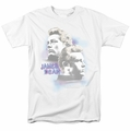 James Dean t-shirt Pastel Charmer mens white