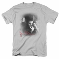 James Dean t-shirt Pensive mens silver