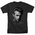 James Dean t-shirt Portrait mens black