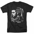 James Dean t-shirt Rebel Cover mens black
