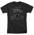 James Dean t-shirt Rebel Rider mens black