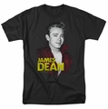 James Dean t-shirt Red Jacket mens black