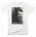 James Dean t-shirt Reflect mens white