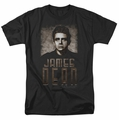 James Dean t-shirt Sepia Dean mens black