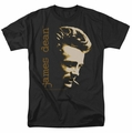 James Dean t-shirt Smoke mens black