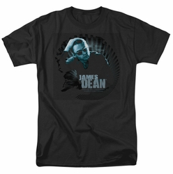 James Dean t-shirt Sunglasses At Night mens black