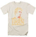 James Dean t-shirt Word Head mens cream