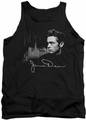 James Dean tank top City Life mens black