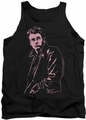 James Dean tank top Coat mens black